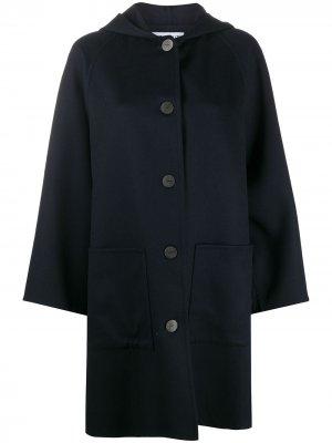 Пальто оверсайз LOEWE. Цвет: синий