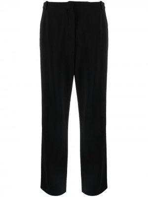 Брюки прямого кроя pre-owned Hermès. Цвет: черный