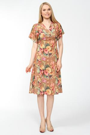 Платье Arrangee. Цвет: коричневый