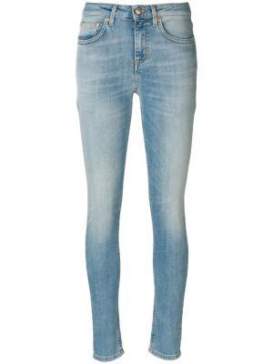 Облегающие джинсы Won Hundred. Цвет: синий