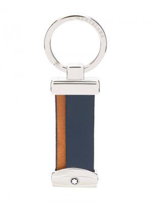 Colour block keyring Montblanc. Цвет: синий