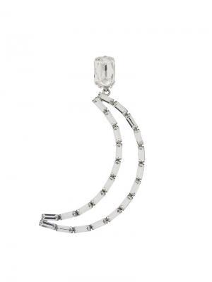 Luna Mono clip-on earring Ca&Lou. Цвет: металлик
