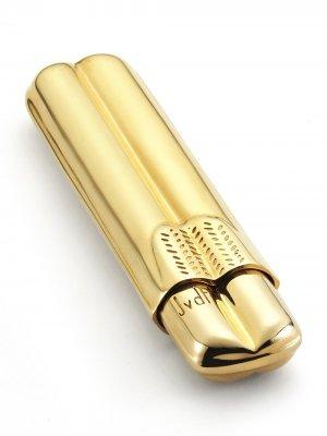 Золотой портсигар Jvdf. Цвет: золотистый