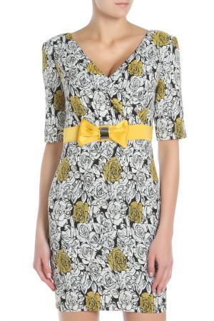 Платье SHELTER. Цвет: желтый