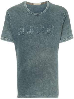 Футболка с логотипом Nudie Jeans Co. Цвет: синий