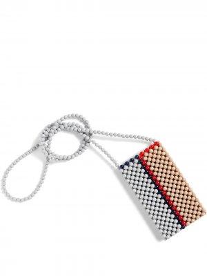 Чехол для телефона Perla из бусин Hay. Цвет: нейтральные цвета