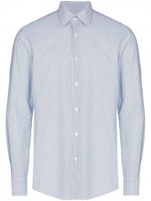 Рубашка Jango с принтом BOSS. Цвет: белый