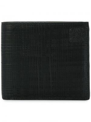 Классический бумажник LOEWE. Цвет: черный