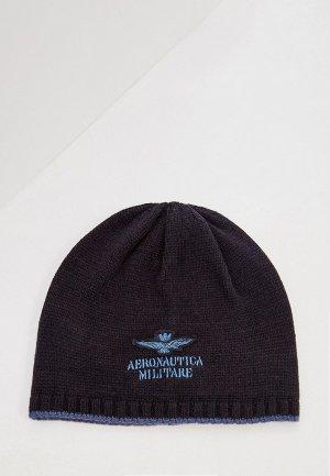 Шапка Aeronautica Militare. Цвет: синий