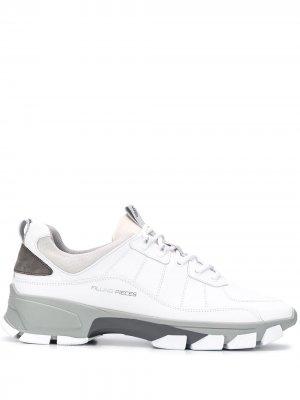 Кроссовки с контрастными вставками Filling Pieces. Цвет: белый