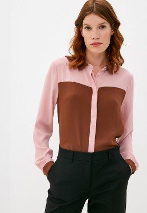 Блуза Ichi. Цвет: коричневый