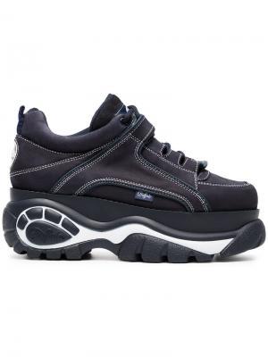 Кроссовки на платформе Buffalo. Цвет: синий