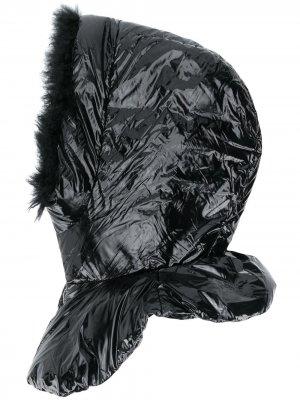 Балаклава на молнии Yves Salomon. Цвет: черный