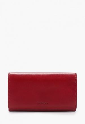 Кошелек Wojas. Цвет: красный
