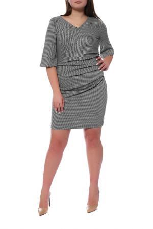 Платье KAFFE. Цвет: светло-серый
