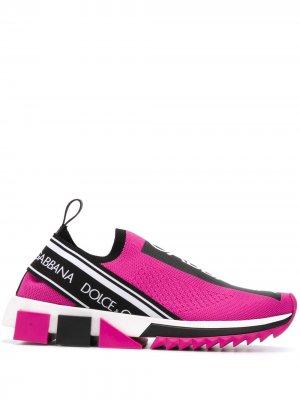 Слипоны Sorrento Dolce & Gabbana. Цвет: розовый