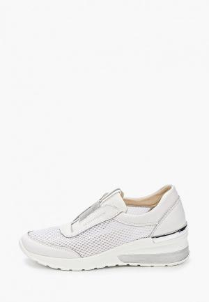 Кроссовки La Grandezza. Цвет: белый