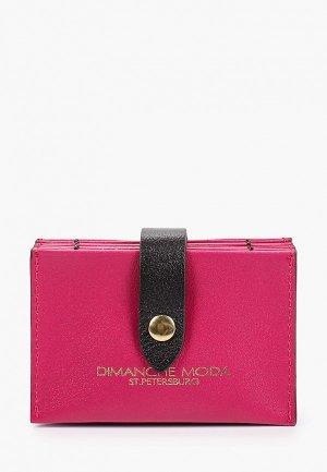 Визитница Dimanche. Цвет: розовый