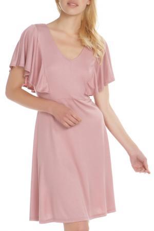Платье A.OK. Цвет: pink