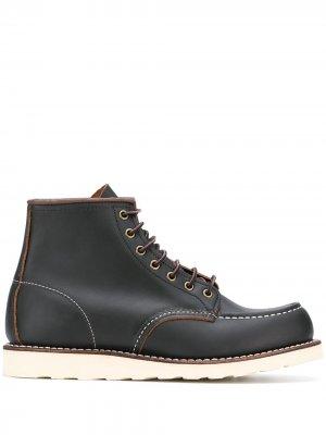 Ботинки Classic Mock Toe Red Wing Shoes. Цвет: черный