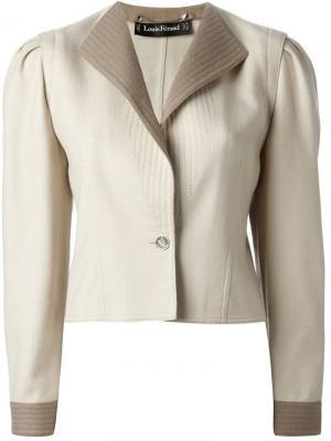 Пиджак Louis Feraud Vintage. Цвет: нейтральные цвета