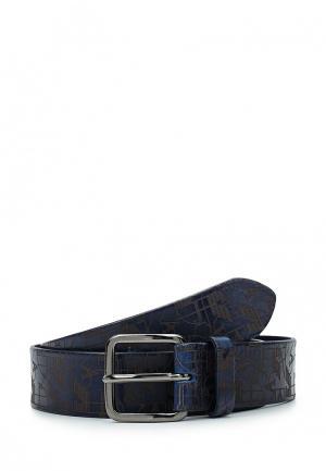 Ремень Armani Jeans. Цвет: синий
