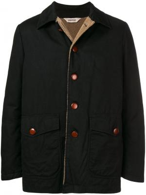 Buttoned jacket Aspesi. Цвет: черный