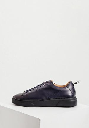 Ботинки A.Testoni. Цвет: синий