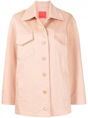 Куртка-рубашка Manning Cartell. Цвет: оранжевый