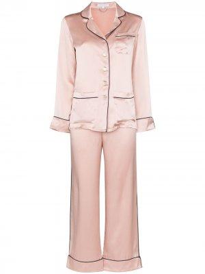 Пижама Coco Olivia von Halle. Цвет: розовый