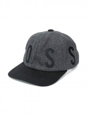 Бейсболка с логотипом BOSS Kidswear. Цвет: серый