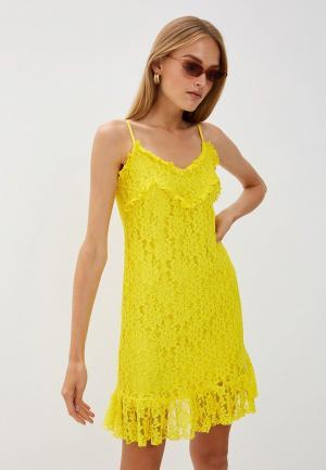 Платье Blugirl Folies. Цвет: желтый