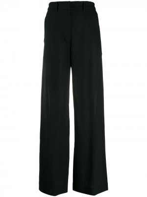 Расклешенные брюки Ann Demeulemeester. Цвет: черный