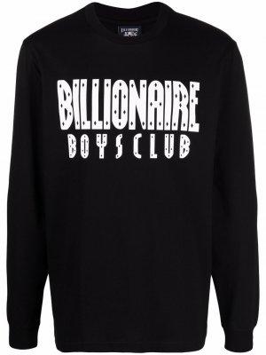 Толстовка с логотипом Billionaire Boys Club. Цвет: черный
