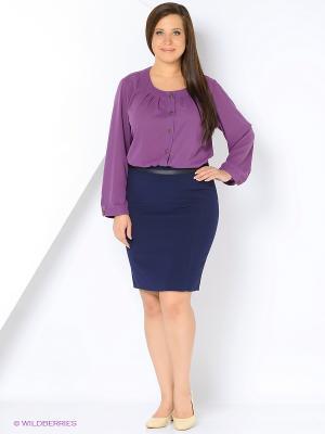 Блузка AMAZONE. Цвет: фиолетовый