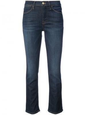 Расклешенные джинсы FRAME. Цвет: синий