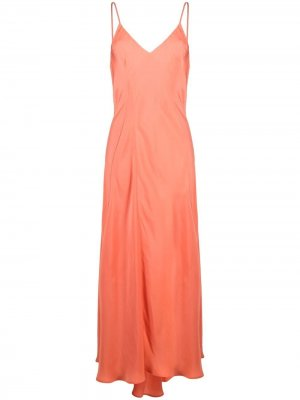 Платье макси Zipmunk Essentiel Antwerp. Цвет: оранжевый