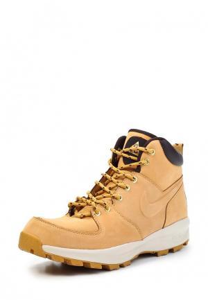 Ботинки трекинговые Nike. Цвет: желтый