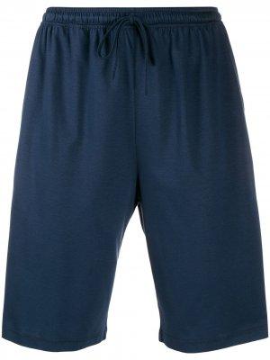Пижамные шорты Ermenegildo Zegna. Цвет: синий