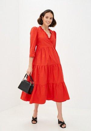 Платье Glamorous. Цвет: красный