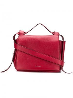 Angel shoulder bag Elena Ghisellini. Цвет: красный