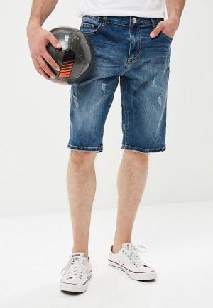 Шорты джинсовые Terance Kole. Цвет: синий