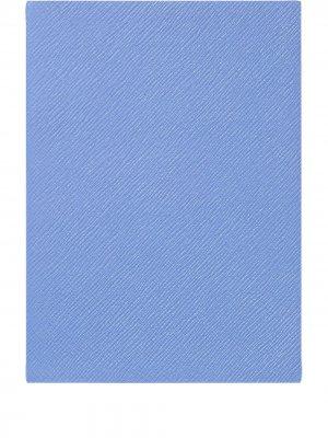 Блокнот Soho Smythson. Цвет: синий