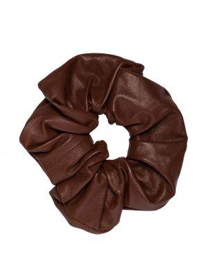 Резинка для волос Jil Sander. Цвет: коричневый