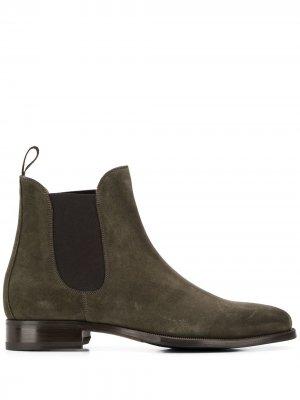 Ботинки челси Scarosso. Цвет: зеленый