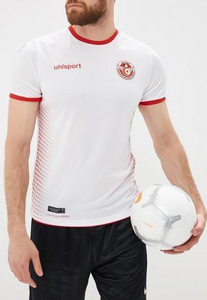 Футболка спортивная Uhlsport. Цвет: белый