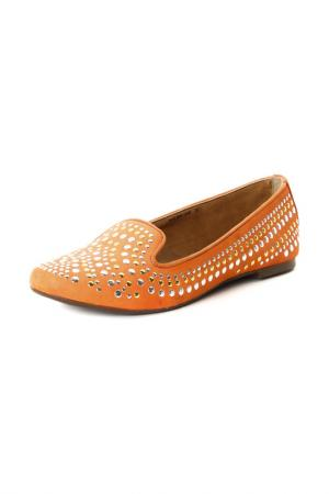 Балетки Velvet. Цвет: оранжевый