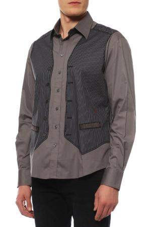 Рубашка JC de Castelbajac. Цвет: серый