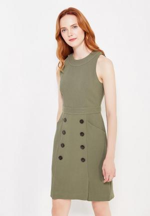 Платье Banana Republic. Цвет: хаки