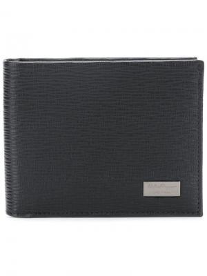 Bifold wallet Salvatore Ferragamo. Цвет: черный